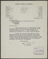 Letter to J.W.C. Turner from E.J. Cohn, 17th August, 1943