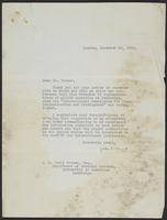 Correspondence between J.W.C. Turner and John G. Winant, December 1941