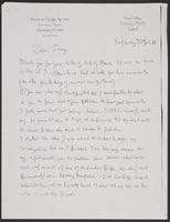 Letter to Anthony from Leon Radzinowicz