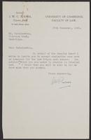 3 Letters to Dr. Radzinowicz from J.W. Cecil Turner, page 2