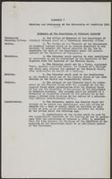 Statutes and Ordinances of the University of Cambridge 1958
