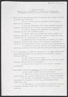 "Research (Note by U.N. Secretariat- ""Issues for Discussion"" at Regional Meetings of Experts prior to Kyoto), 1970"