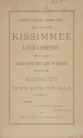 200,000 acres best land in Florida: Kissimmee City town lots for sale