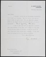 Letter to Dr. Dirac, February 22, 1927