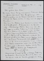 Letter to Dr. Dirac, January 20, 1927
