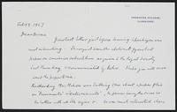 Letter to Dr. Dirac, February 9, 1927