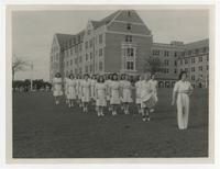Florida State College for Women Marching Practice