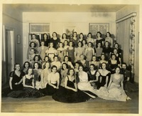 Chi Omega Sorority Group Photograph