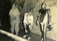 Cornelia Watson, Carolyn Mims, and Joan Kennedy in Wizard of Oz Costumes at Odd Demonstration