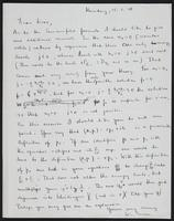 Letter to Dr. Dirac, January 15, 1928
