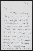 Letter to Dr. Dirac, January 14, 1928