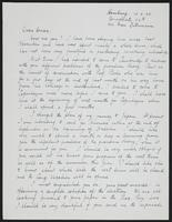 Letter to Dr. Dirac, February 10, 1928
