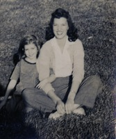 Margaret Ellen Barfield and Child