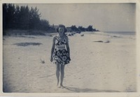 Betty Lou Jackson at the Beach