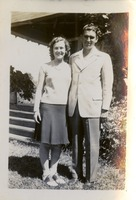 Dorothy Bryant McGahagin with Her Husband Alston McGahagin