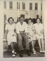 Victoria Lewis, Dorothy Bryant McGahagin, Alston McGahagin and Jayne Rainey