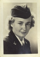 Majorie Lambert Graham in Military Uniform