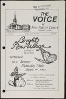Voice of the First Baptist Church