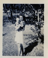 Marion Freeling and a Baby