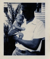 Unidentified Man and a Baby