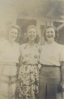 Jayne Rainey, Betty Lou Jackson, and Dorothy Bryant McGahagin
