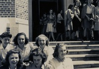 Group of Women on Steps