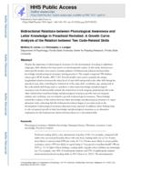 Bidirectional relations between phonological awareness and letter knowledge in preschool revisited
