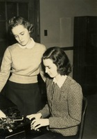 Two Women at a Typewriter