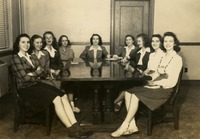 Group of Women at a Table