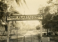 Camp Flastacowo Sign