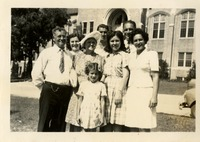 The Lewis Family on Campus