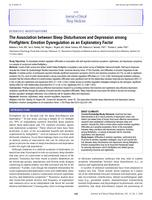 Association between Sleep Disturbances and Depression among Firefighters