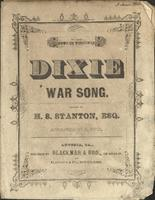 Dixie War Song