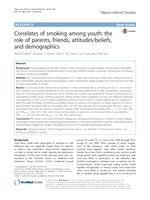 Correlates of smoking among youth