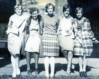 Freshman Class Council For the Class of 1932