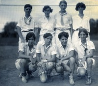 Freshman Volleyball Team of the Class of 1932