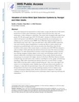 Valuation of active blind spot detection systems by younger and older adults.