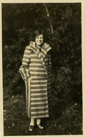 "Winnifred ""Wauna"" Neeld Wearing Coat"
