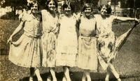 5 Women in Dresses