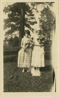 2 Women Dressed for Freshman-Junior Wedding