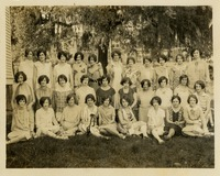 Group of Women Posing Under Tree
