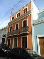 Orange Casa (three story house), San Juan, Puerto Rico
