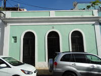 Green Casa (single story house) , San Juan, Puerto Rico