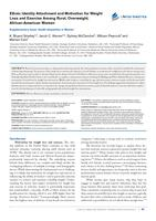 Ethnic Identity Attachment and Motivation for Weight Loss and Exercise Among Rural, Overweight, African-American Women.