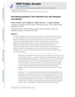 Internalizing Symptoms, Peer Substance Use, and Substance Use Initiation.
