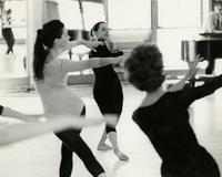 Nancy Smith Fichter in rehearsal with Donna Garner and Sharyn Heiland