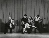 Group performing City Corner in An Evening of Dance production in 1954
