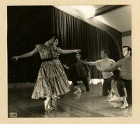 Group performing Nancy Smith Fichter choreography in 1955