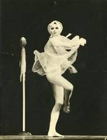 Francine Rubin dancing in the 1970s
