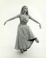 Kate Gelahart dancing in the 1970s
